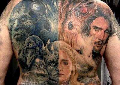 Jr Verger Tattoo