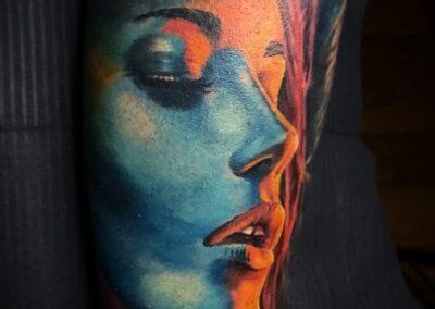 Tatuaje de Jr. Verger en Verger Tattoo, Cantabria, Santander