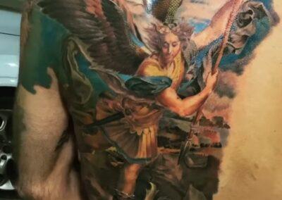 Jr Verger en Verger Tattoo Arcángel