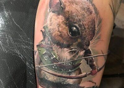 Jr Verger Verger Tattoo Ratón