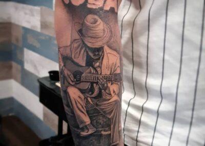 Saúl en Verger Tattoo Cuba