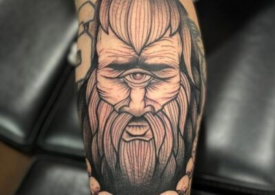 Dani en Verger Tattoo Ojáncano